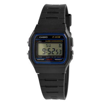 Reloj sencillo negro