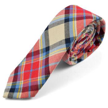 Corbata de lana de moda multicolor