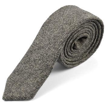 Corbata de lana de cachemira retro