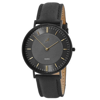 Montre Nivil Noir & Or