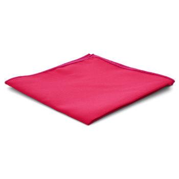 Pañuelo de bolsillo básico rosa fresa