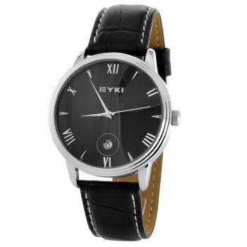 Reloj clásico negro