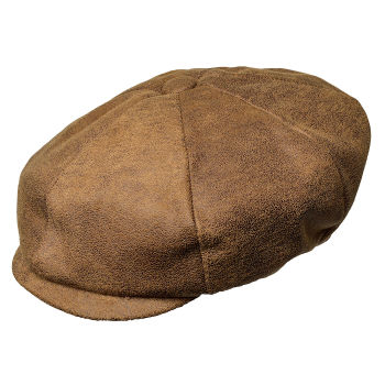 Gorra Newsboy marrón