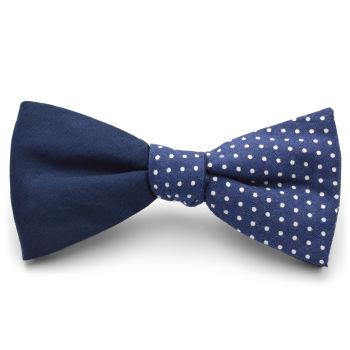 Parajita algodón diseño azul y blanco