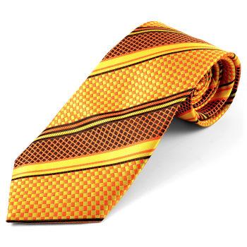 Corbata de seda retro