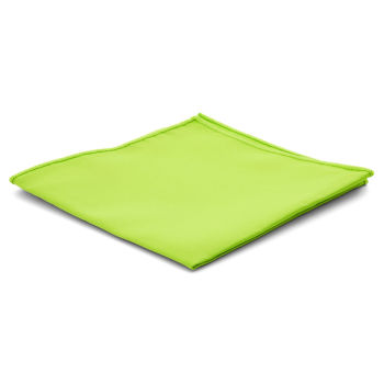 Pañuelo de bolsillo básico verde lima