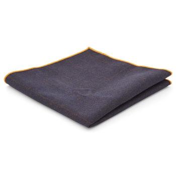 Pañuelo de bolsillo azul añil