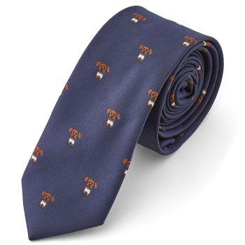 Corbata con perritos