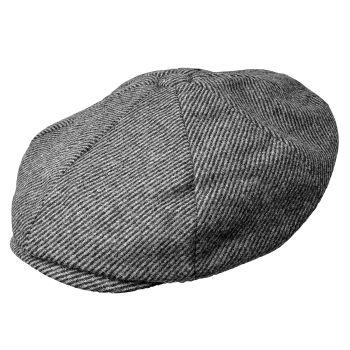 Gorra Newsboy gris