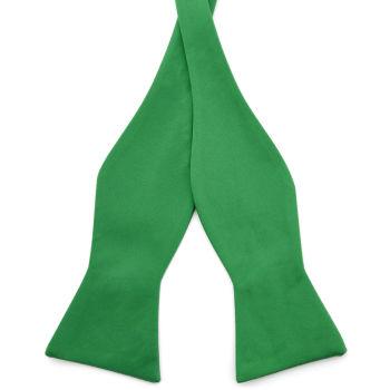 Pajarita para atar básica verde esmeralda