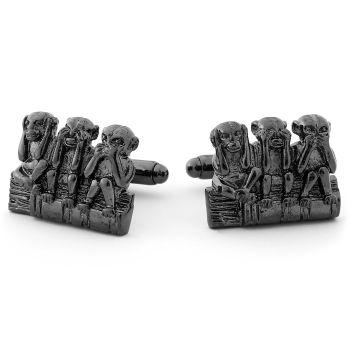 Botões de Punho Macacos