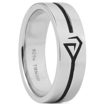 Northern Jewelry Ring van 925 Zilver