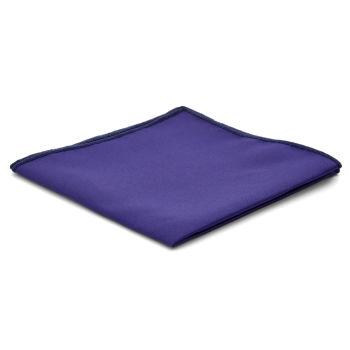 Pañuelo de bolsillo básico morado eléctrico
