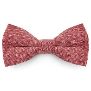 Pajarita de algodón rosa