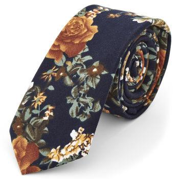 Vivid Floral Tie