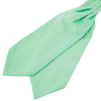 Corbatón básico verde menta