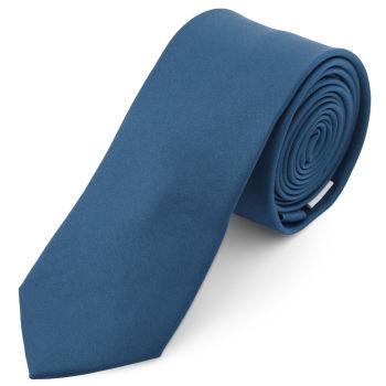 Corbata básica azul petróleo 6 cm