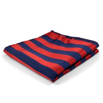 Pañuelo de bolsillo tradicional a rayas