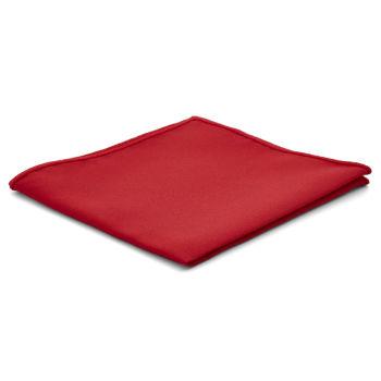 Pañuelo de bolsillo básico rojo