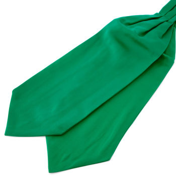 Podstawowy krawat w kolorze szmaragdowo-zielonym