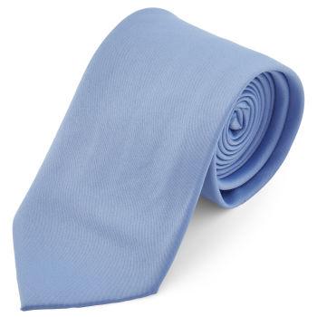 Corbata básica azul claro 8 cm