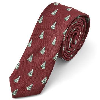 Corbata navideña con clase