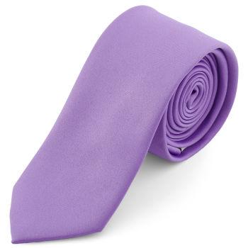 Gravata Básica Roxo Claro de 6 cm
