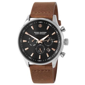 Reloj Troika marrón y cobre