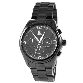 Reloj de hombre negro sobre negro