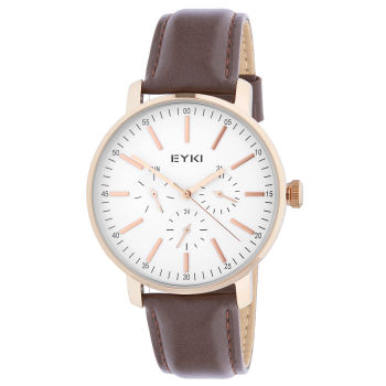 Reloj Eyki marrón y dorado