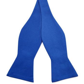 Pajarita para atar básica azul
