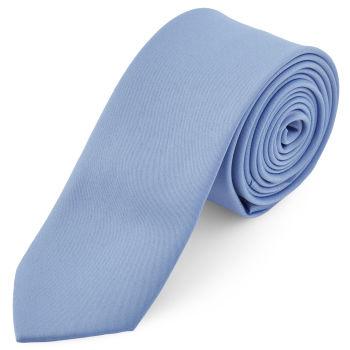 Corbata básica azul claro 6 cm