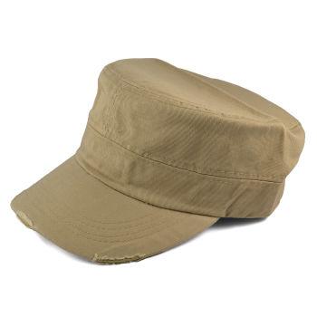 Gorra de cadete kaki
