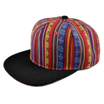 Gorra Snapback azteca multicolor