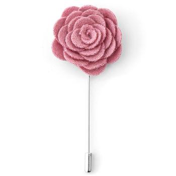 Flor de Lapela Rosa