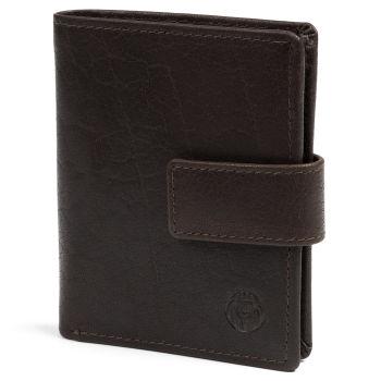 Montreal Kompakt Brun RFID Skinnlommebok