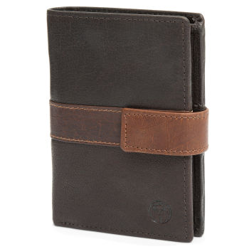 Montreal Executive Brown & Tan RFID Leather Wallet