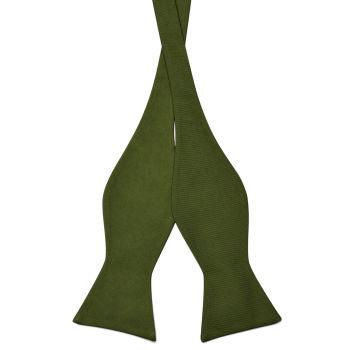 Pajarita para atar verde militar
