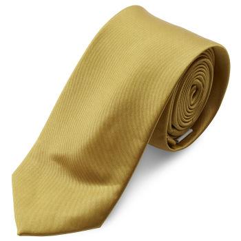 Corbata básica dorado brillante 6 cm