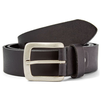 Thick Black Leather Belt