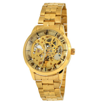Reloj de cuerda dorado