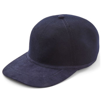 Gorra de béisbol azul