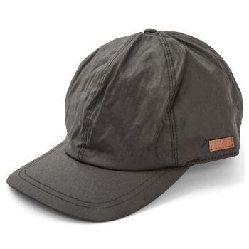Gorra de béisbol de lona negra