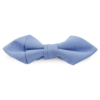 Pajarita básica puntiaguda azul claro