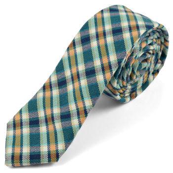 Corbata de lana de moda verde