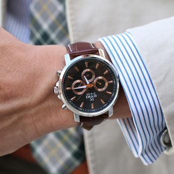 Relógio Preto Perfico