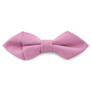 Világos rózsaszín, egyszerű hegyes végű díszzsebkendő