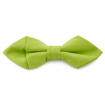 Pajarita básica puntiaguda verde lima