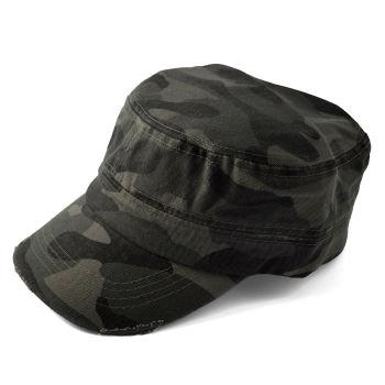 Gorra de cadete camuflaje gris