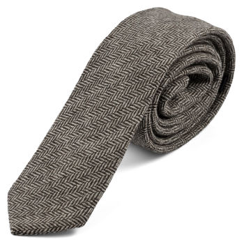 Corbata de algodón retro